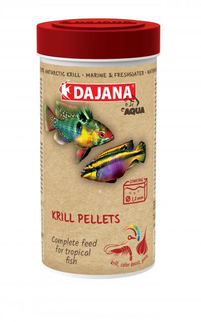 Krill pellets