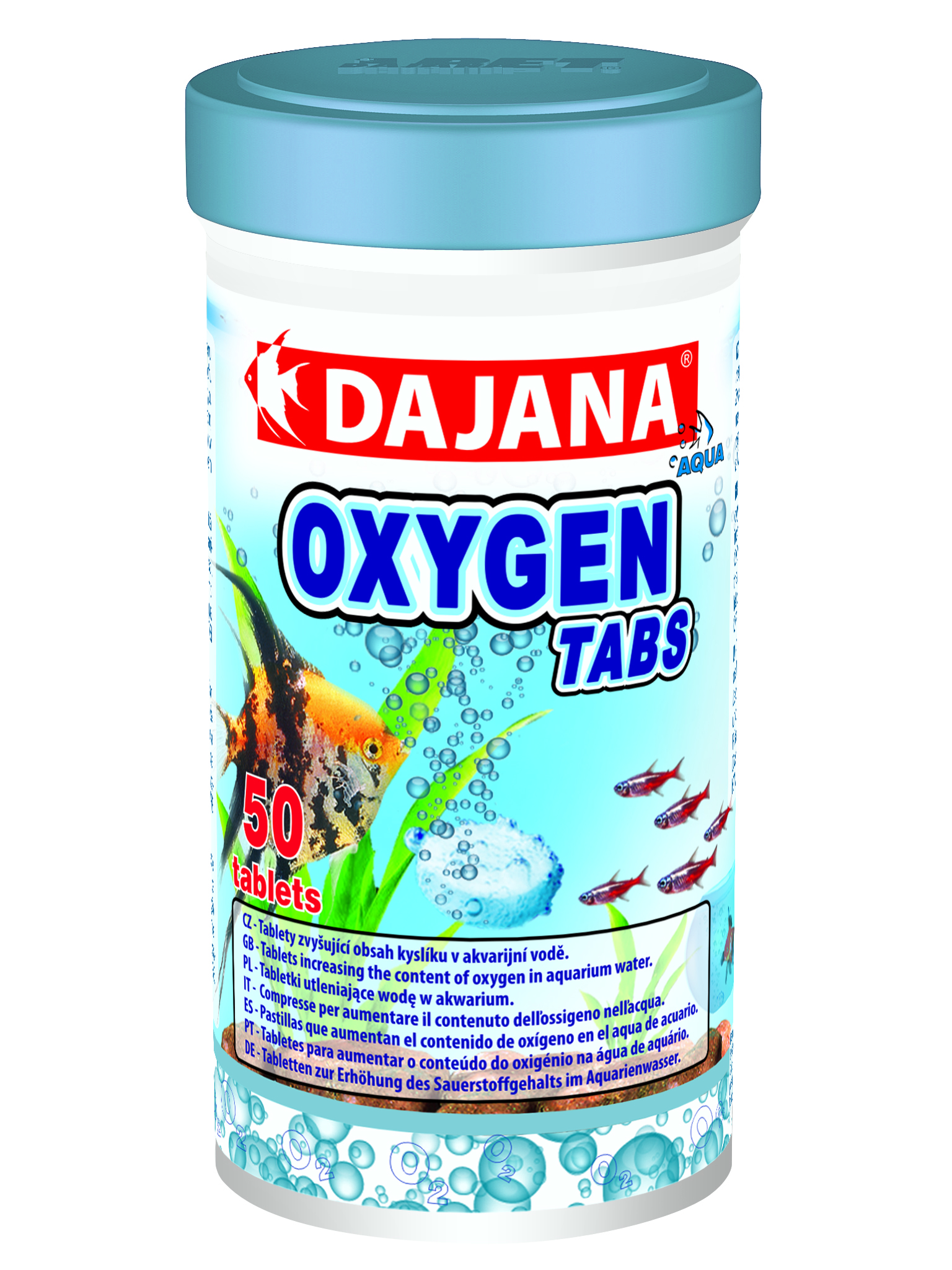 Oxygen tabs dajana pet s r o for Oxygen tablets for fish